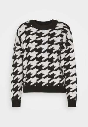 JDYAXIS  - Jumper - black/white check