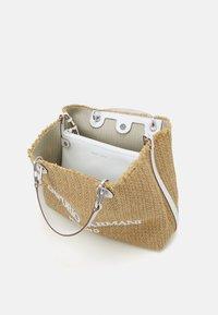 Emporio Armani - CAPSULE MYEABORSA SHOPPING - Handbag - natural/white - 4