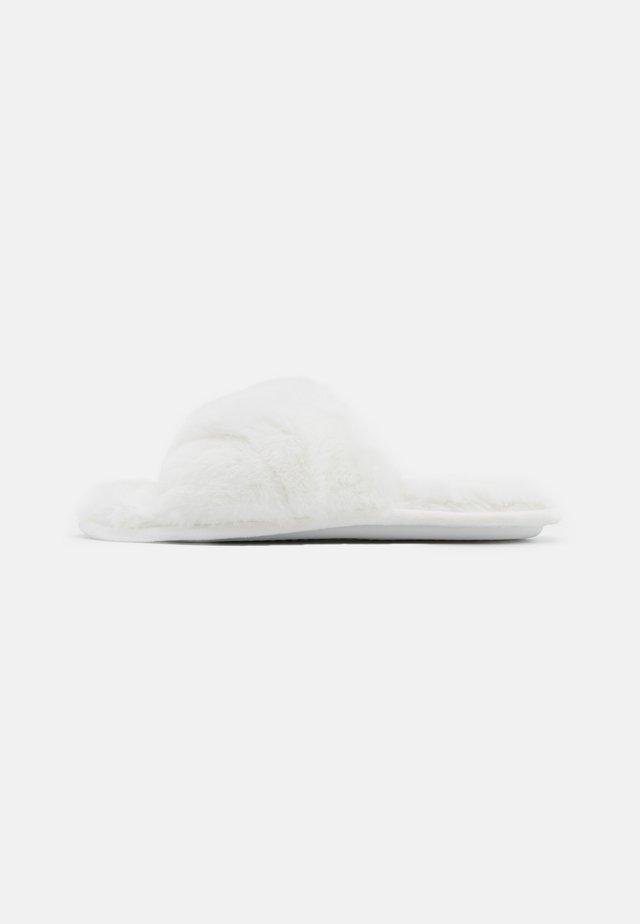 TOP UP - Pantoffels - cream