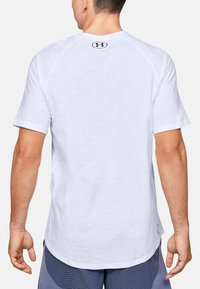Under Armour - CHARGED COTTON SS - Basic T-shirt - white - 1