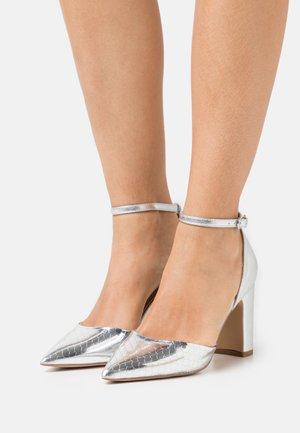 JOYUS - Escarpins à talons hauts - silver