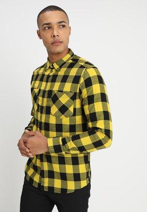 CHECKED - Skjorta - yellow