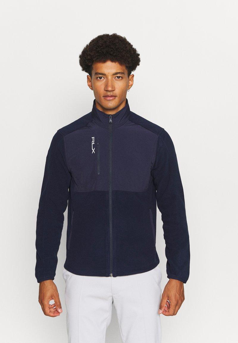 Polo Ralph Lauren Golf - LONG SLEEVE FULL ZIP - Fleece jacket - french navy