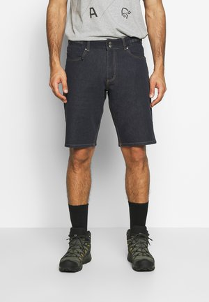 SVALBARD SHORTS - Kraťasy - denim