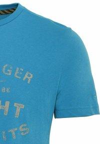 camel active - Print T-shirt - ocean blue - 6
