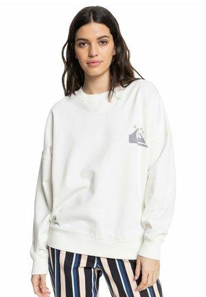 Sweatshirt - lil y white