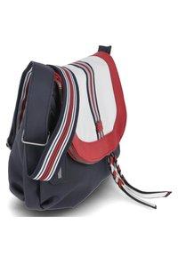 Rieker - Across body bag - blau-kombi - 2