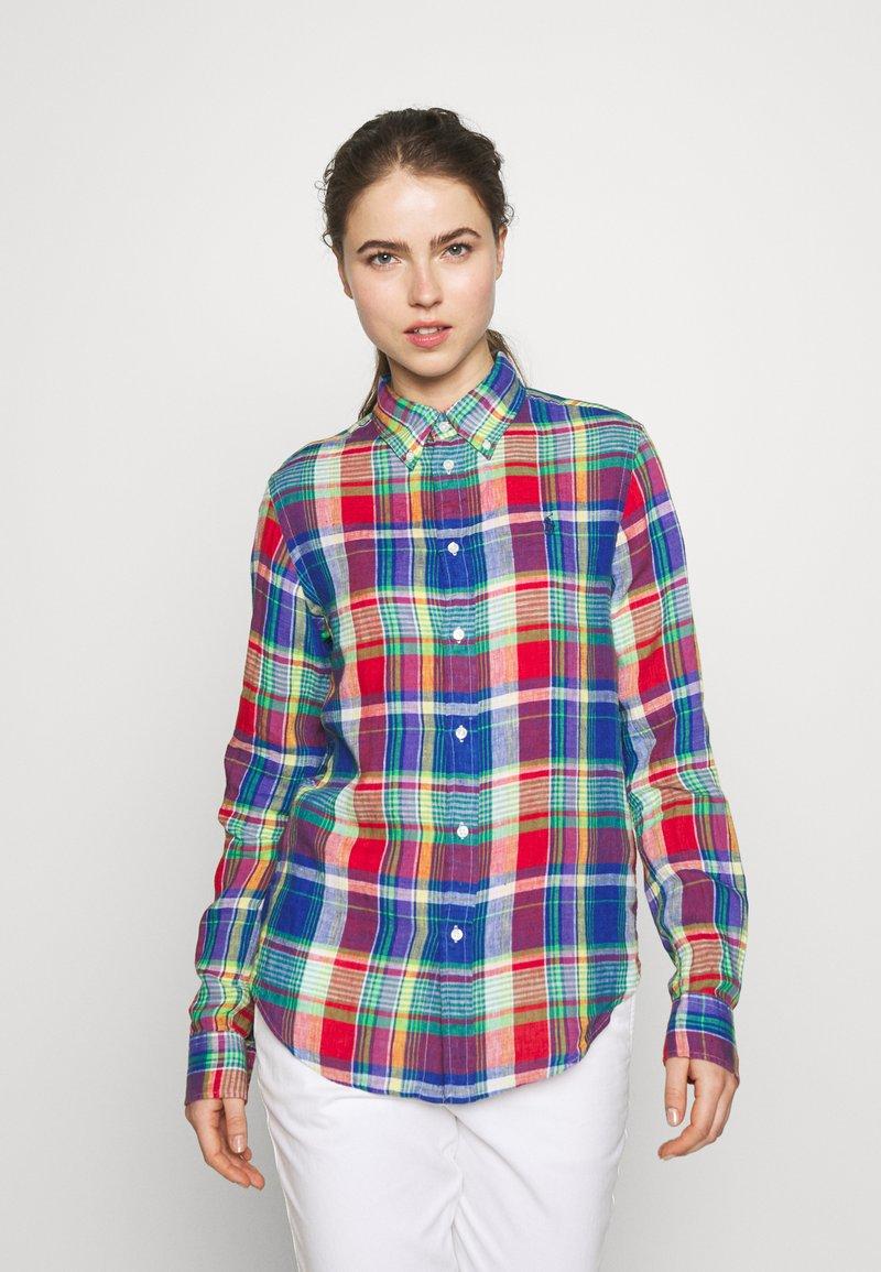 Polo Ralph Lauren - GEORGIA CLASSIC LONG SLEEVE - Bluser - blue/red