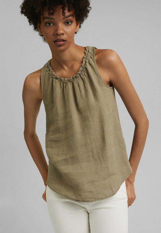 Bluse - light khaki
