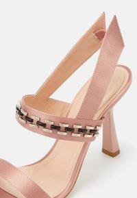 Alberta Ferretti - High heeled sandals - violet - 4