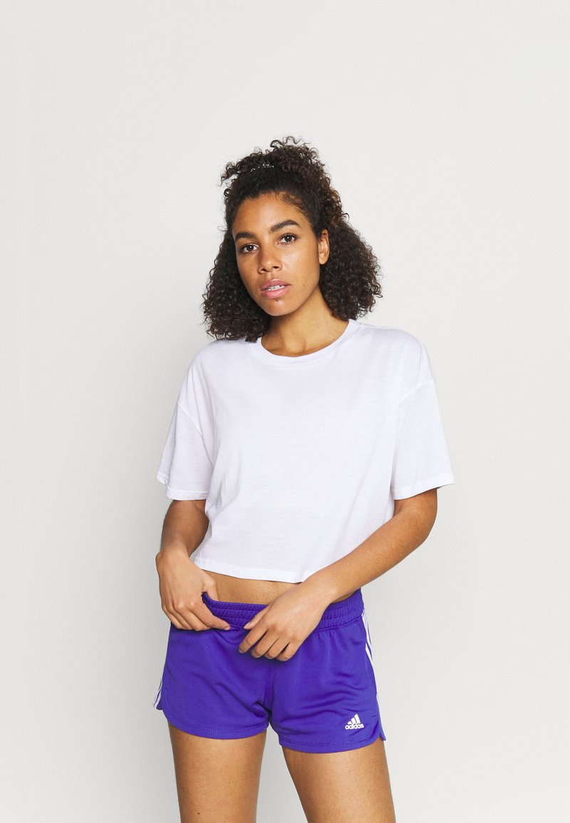 Cotton On Body - RELAXED ACTIVE - T-shirt z nadrukiem - white