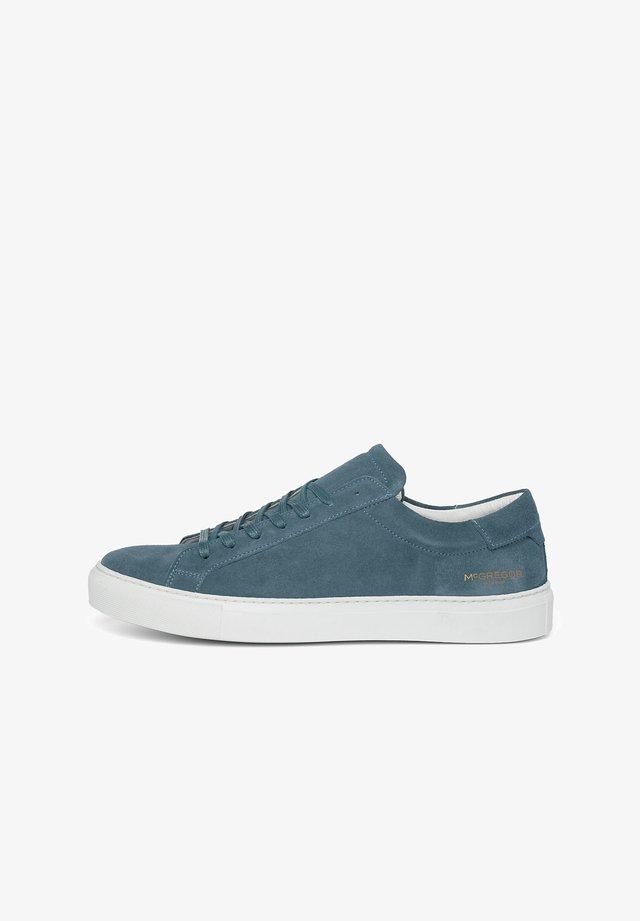 Sneakers laag - mid blue