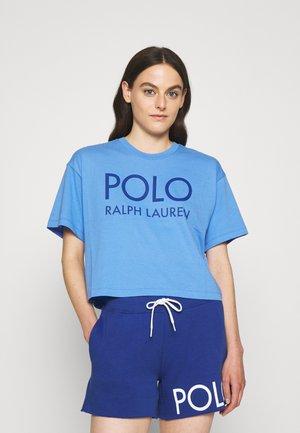 T-shirts med print - harbor island blue
