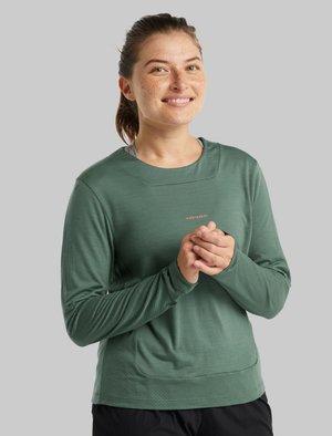 Long sleeved top - sage