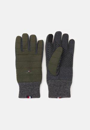 ESTABLISHED MIX GLOVES - Gloves - military green