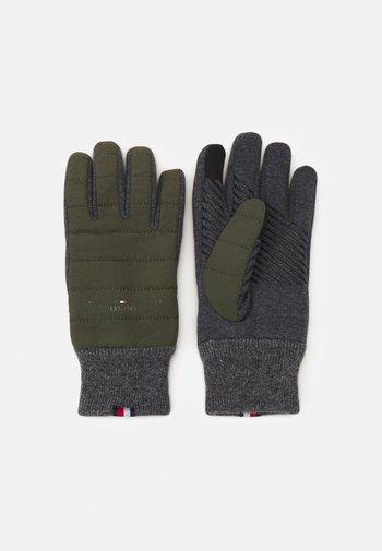 ESTABLISHED MIX GLOVES - Rękawiczki pięciopalcowe - military green