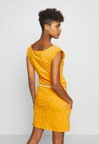 Ragwear - TAG - Žerzejové šaty - yellow - 2
