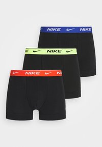 Nike Underwear - DAY TRUNK 3 PACK - Bokserit - black
