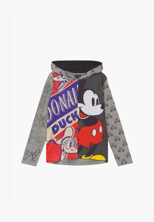 DISNEY MICKEY MOUSE - Hoodie - mottled grey