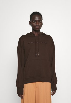 SIBEL - Sweater - dark mahogany