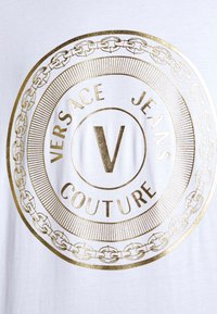 Versace Jeans Couture - LOGO - Long sleeved top - white/gold - 5