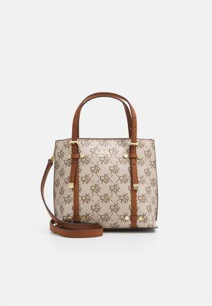 BO MINI CROSSBODY CATHERINE LOGO - Handbag - caramel
