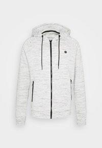 Zip-up sweatshirt - white