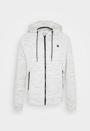Sweat à capuche zippé - white