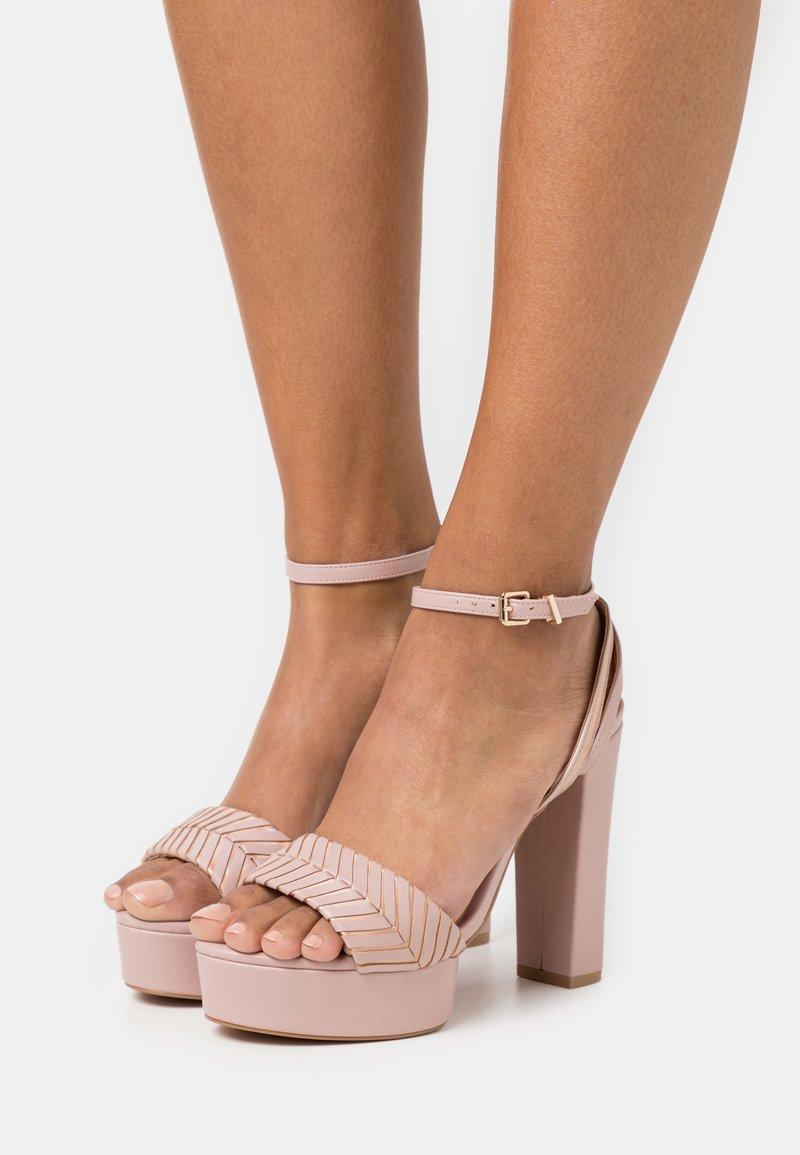 Even&Odd - High heeled sandals - light pink