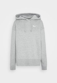 Nike Sportswear - HOODIE TREND - Sweat à capuche - dark grey heather/matte silver/white - 4