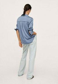 Mango - IDEALE - Overhemdblouse - blue - 2