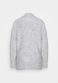 River Island - ULTIMATE CABLE  - Jumper - grey light marl - 1
