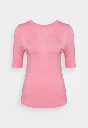 HIGH NECK TOP - Basic T-shirt - light pink