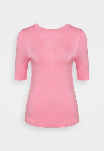 HIGH NECK TOP - T-shirt basique - light pink