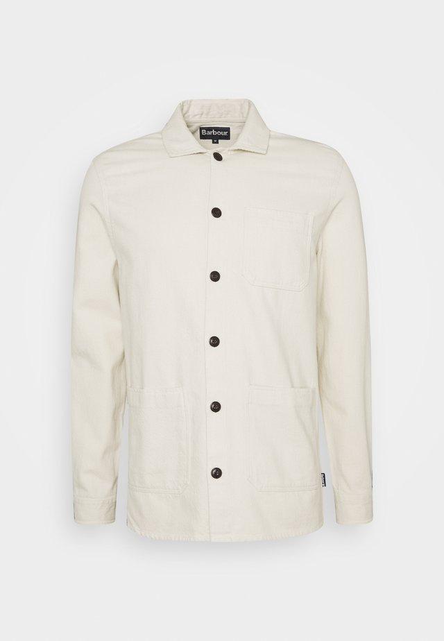 STIRLING OVERSHIRT - Overhemd - ecru