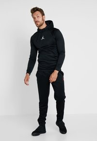 Jordan - JUMPMAN SUIT PANT - Træningsbukser - black/white/gym red - 1