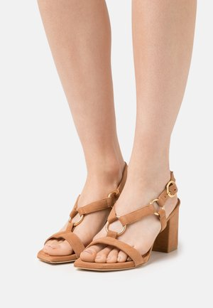 LALITA BLOCK  - Sandals - tan