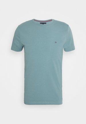 STRETCH SLIM FIT TEE - T-shirt basic - lofty blue