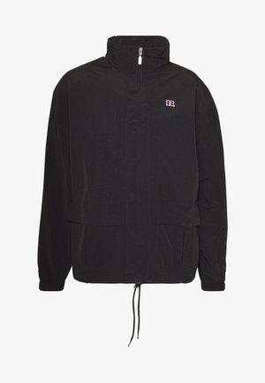 GLIDER - Lehká bunda - black