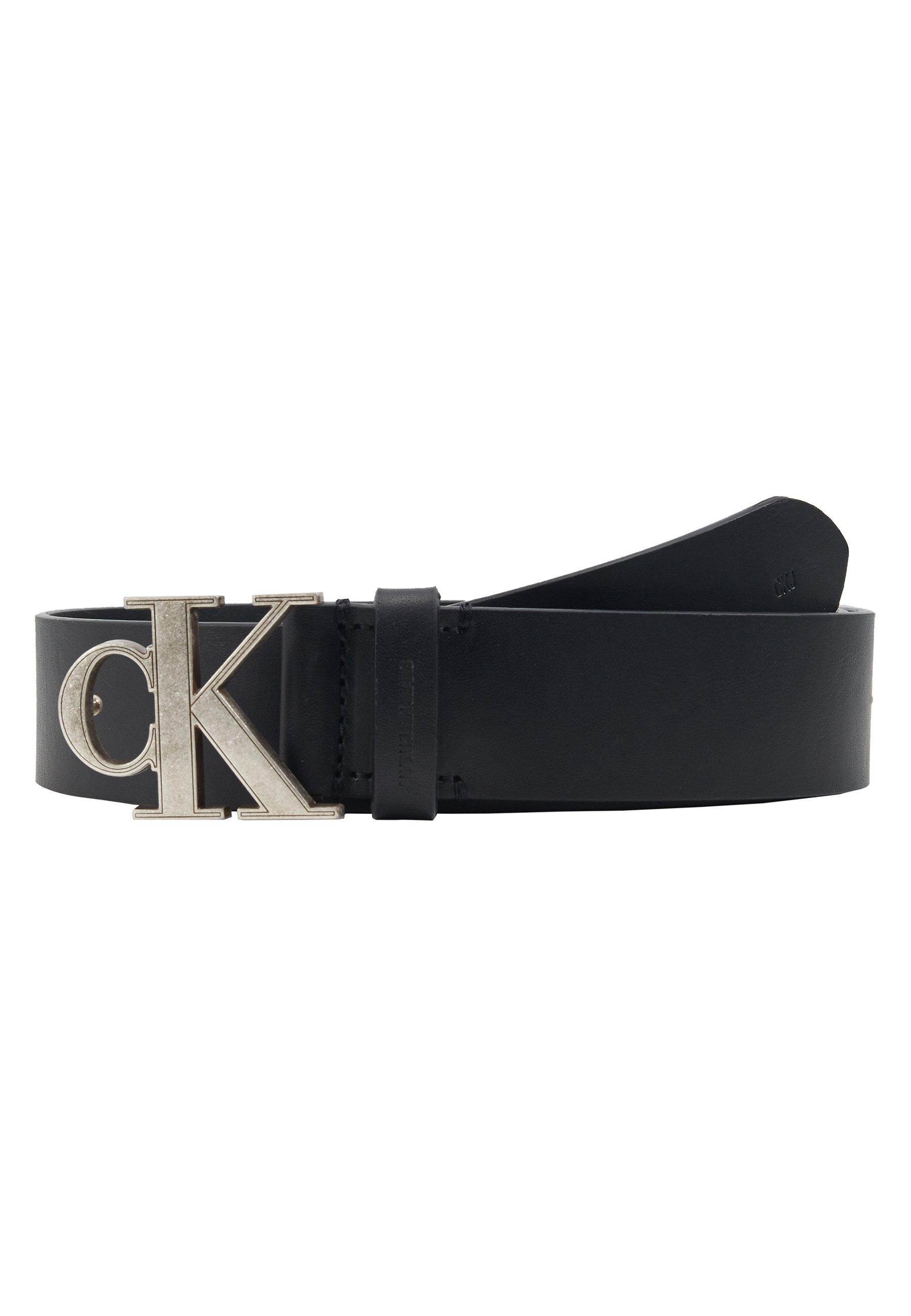 Calvin Klein Jeans MONO HARDWARE - Ceinture - black