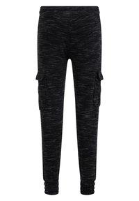 WE Fashion - Cargo trousers - black - 4