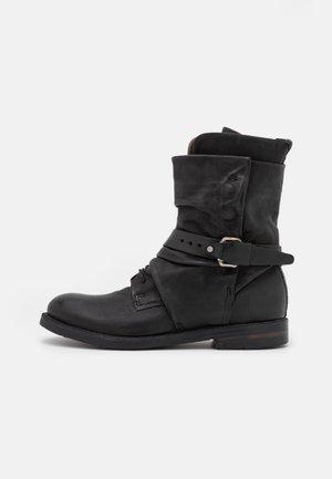 SAMURAI - Lace-up ankle boots - nero