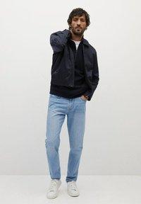 Mango - BOB - Jeans a sigaretta - hellblau - 1
