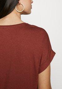 ONLY - ONLMOSTER ONECK - T-shirt basic - henna - 5