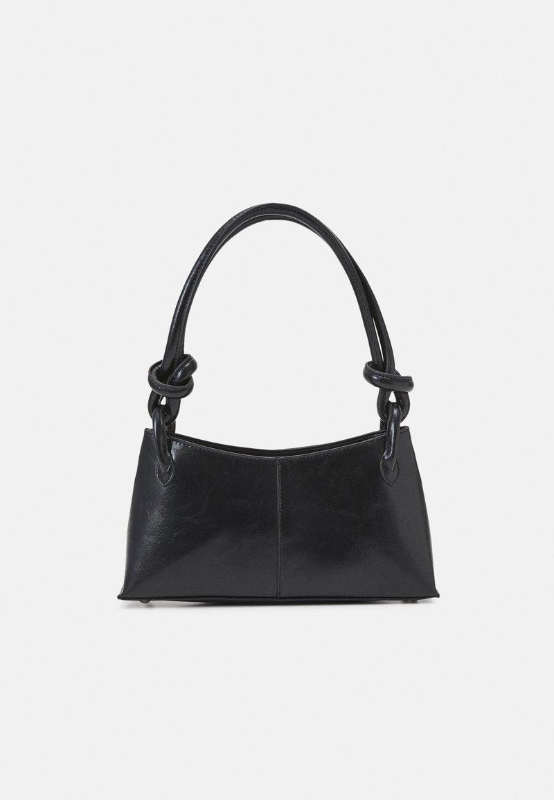 Topshop - 90S  KNOT SHOULDER - Handbag - black