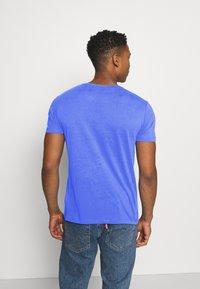 Esprit - LOGO - Print T-shirt - blue - 2
