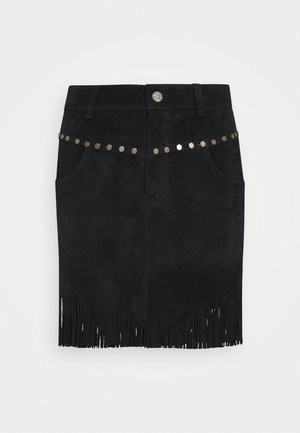 SKIRTS - A-line skirt - black