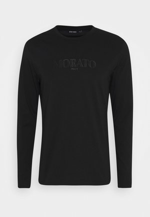 LONG SLEEVES - Long sleeved top - black