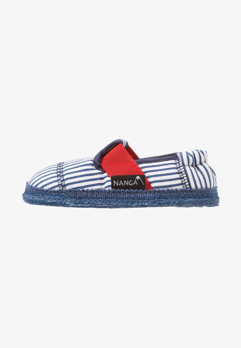 Nanga - SANDBURG - Domácí obuv - dunkelblau