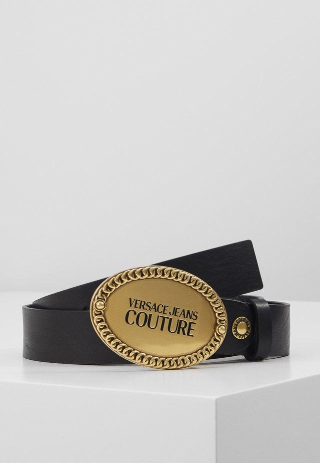 Belte - black/gold-coloured